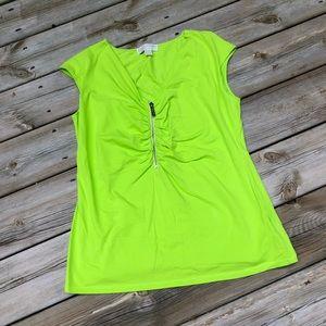 Michael Kors green dress shirt